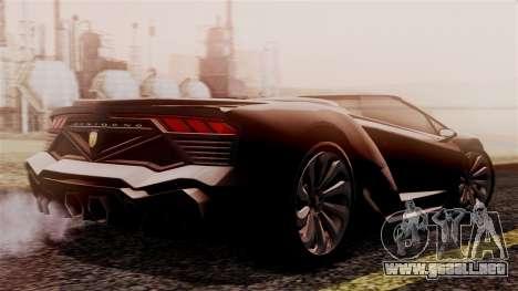 Pegassi Zentorno Cabrio v2 para GTA San Andreas left