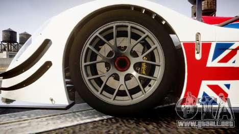 Radical SR8 RX 2011 [28] para GTA 4 vista hacia atrás