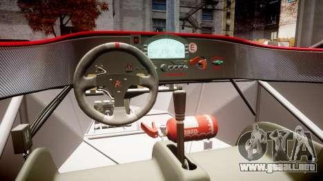 Radical SR8 RX 2011 [28] para GTA 4 vista interior