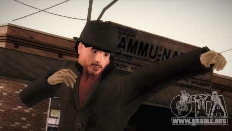 Sherlock Holmes v1 para GTA San Andreas