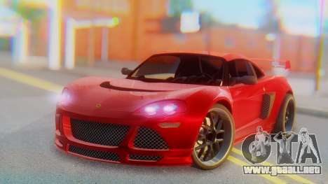 Lotus Europe S Wide para GTA San Andreas
