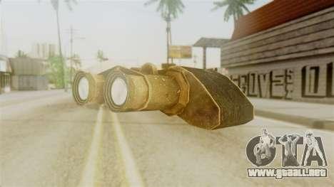 Red Dead Redemption Binocular para GTA San Andreas segunda pantalla
