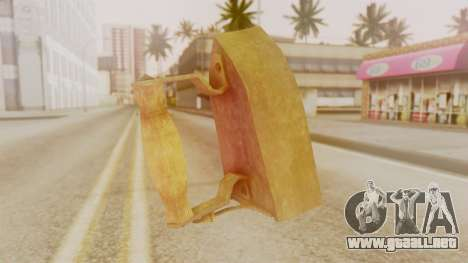 Red Dead Redemption Brassknuvle para GTA San Andreas segunda pantalla