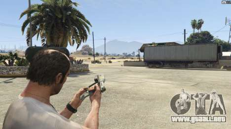 GTA 5 Halo UNSC: Magnum séptima captura de pantalla