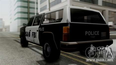 Alternative FBI Rancher para GTA San Andreas left