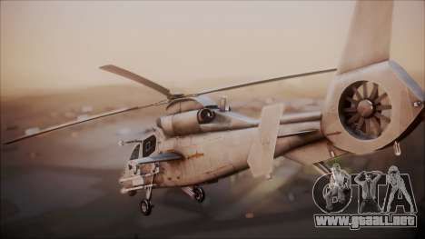 Harbin WZ-19 para GTA San Andreas left