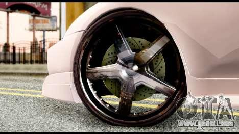 Toyota Supra Full Tuning v2 para GTA San Andreas vista posterior izquierda