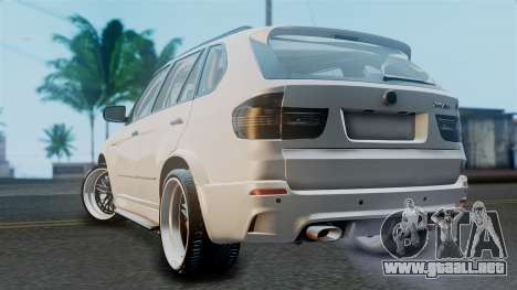 BMW X5M 2014 E-Tuning para GTA San Andreas left