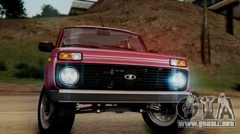VAZ 2121 Niva Stoke para la visión correcta GTA San Andreas