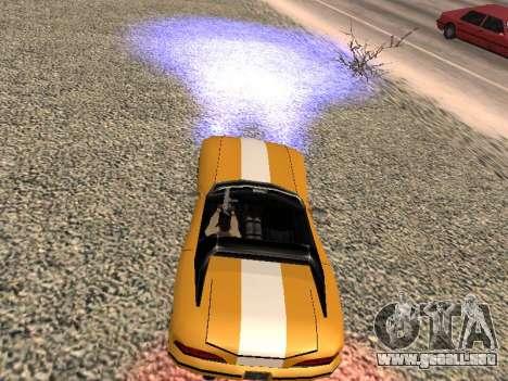 Xenon para GTA San Andreas sucesivamente de pantalla
