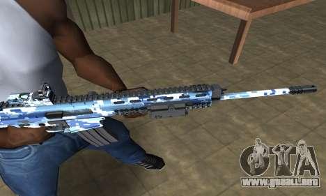 Pixel M4 para GTA San Andreas segunda pantalla