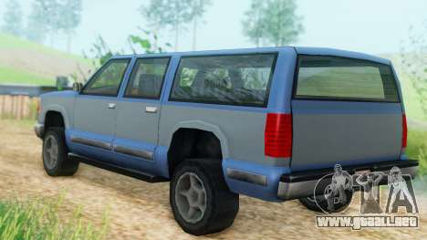 4-door Yosemite para GTA San Andreas left