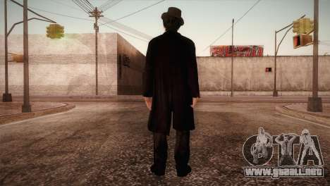 Dr. John Watson v1 para GTA San Andreas tercera pantalla