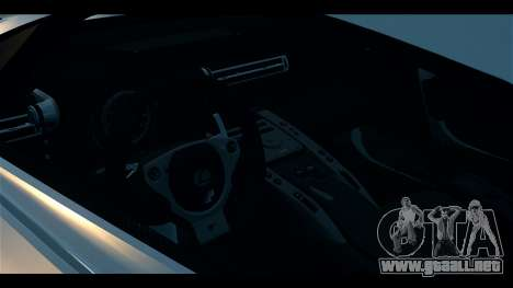 Lexus LF-A 2010 EPM para GTA 4 vista hacia atrás