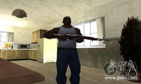 Snake Rifle para GTA San Andreas tercera pantalla
