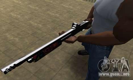 National Shotgun para GTA San Andreas segunda pantalla
