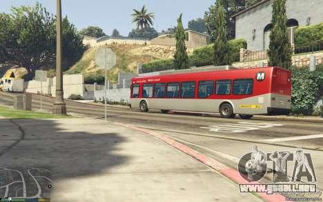 GTA 5 New Bus Textures v2 vista lateral trasera derecha