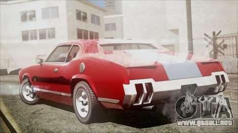 Sabre Turbocharged para GTA San Andreas left