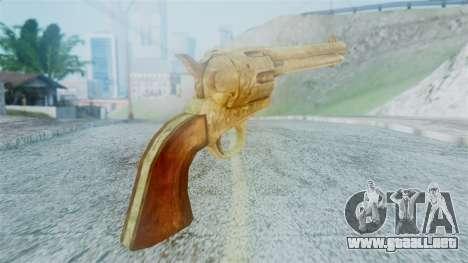 Red Dead Redemption Revolver Cattleman Diego v2 para GTA San Andreas segunda pantalla