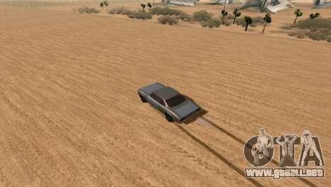 Offroad Effect para GTA San Andreas segunda pantalla