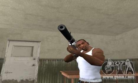 Black Lines Rifle para GTA San Andreas segunda pantalla