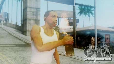 Red Dead Redemption Molotov para GTA San Andreas tercera pantalla