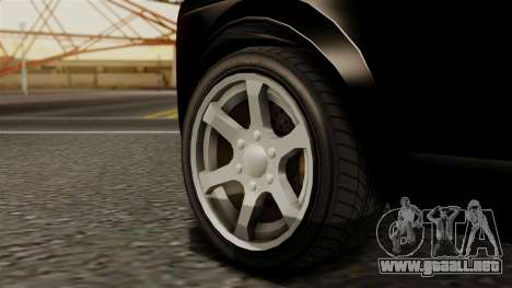 GTA 5 Enus Super Diamond para GTA San Andreas vista posterior izquierda