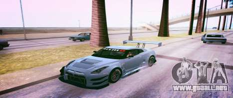 Brandals ENB v2 para GTA San Andreas segunda pantalla