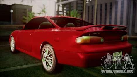 Mazda MX-6 (GE5S) para GTA San Andreas left