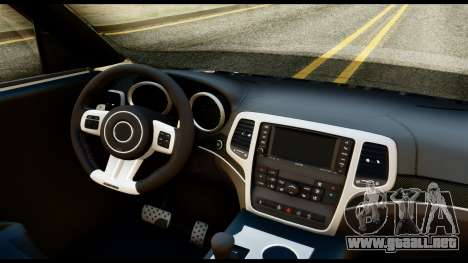 Infiniti QX56 Final para la visión correcta GTA San Andreas