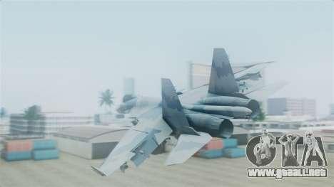 Sukhoi SU-33 Flanker-D para GTA San Andreas left