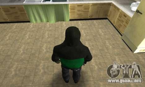 Fam White para GTA San Andreas sucesivamente de pantalla
