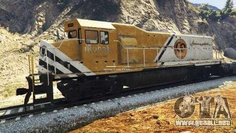 GTA 5 Ingeniero de ferrocarril v3.1 segunda captura de pantalla