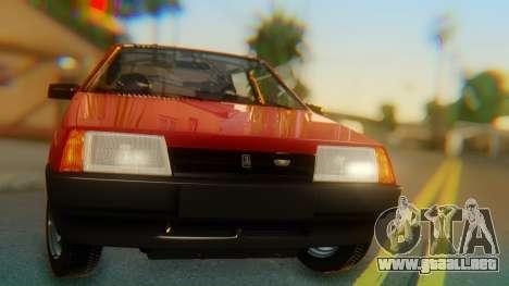 2109 Stoke para GTA San Andreas vista hacia atrás