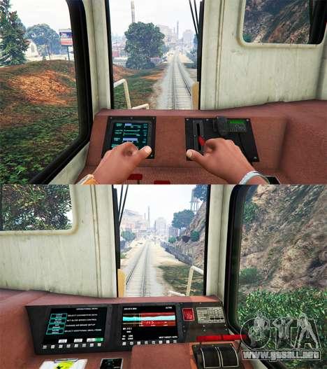 GTA 5 Ingeniero de ferrocarril v3.1 tercera captura de pantalla