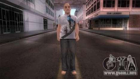 dnb1 Skin in Snowboard T-Shirt para GTA San Andreas segunda pantalla