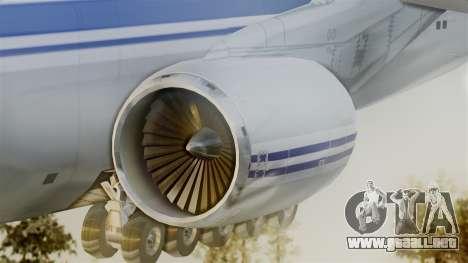 Antonov 124 para GTA San Andreas vista posterior izquierda