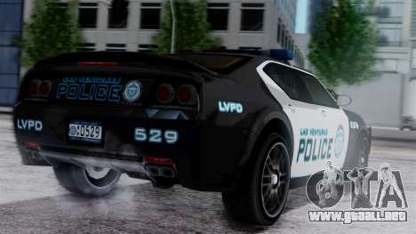 Hunter Citizen Police LV IVF para GTA San Andreas left