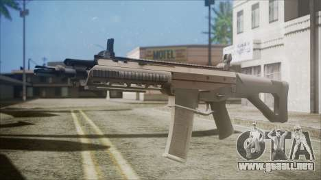 ACR from Battlefield Hardline para GTA San Andreas