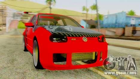 Volkswagen Golf R32 Edition Tribal para GTA San Andreas