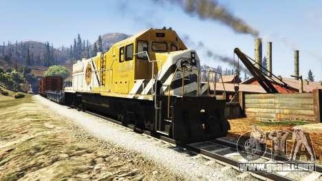 GTA 5 Ingeniero de ferrocarril v3.1