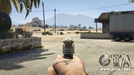 GTA 5 Halo UNSC: Magnum décima captura de pantalla