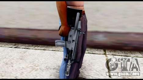 MK16 PDW Advanced Quality v2 para GTA San Andreas tercera pantalla
