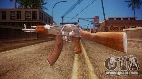AK-47 v3 from Battlefield Hardline para GTA San Andreas segunda pantalla