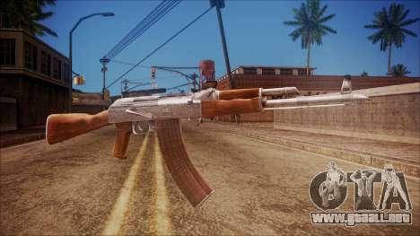 AK-47 v3 from Battlefield Hardline para GTA San Andreas