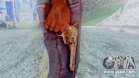 Red Dead Redemption Revolver Cattleman para GTA San Andreas tercera pantalla