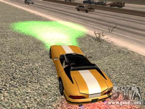 Xenon para GTA San Andreas segunda pantalla