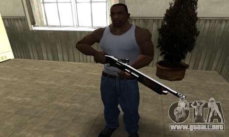 National Shotgun para GTA San Andreas tercera pantalla