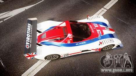 Radical SR8 RX 2011 [28] para GTA 4 visión correcta
