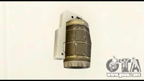 Grenade from Crysis 2 para GTA San Andreas